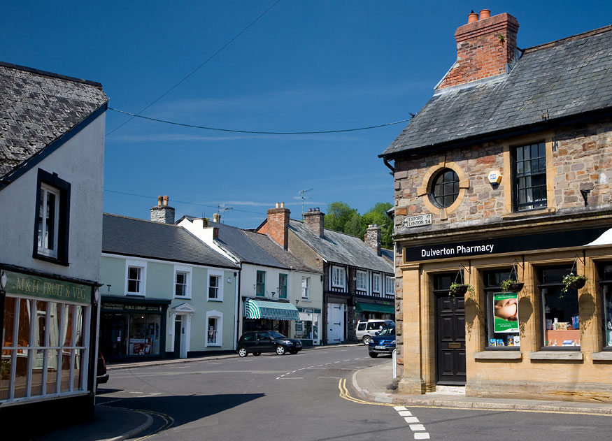 Dulverton Somerset Guide Photos