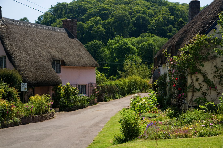 Thatched Cottages Dunster Somerset Guide Photos