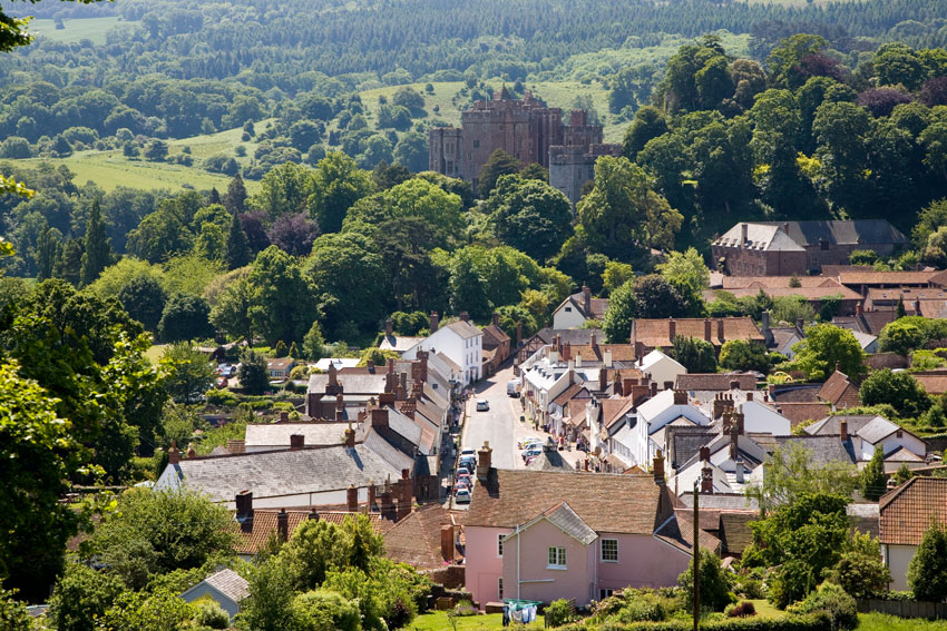 Dunster View Somerset Guide Photos