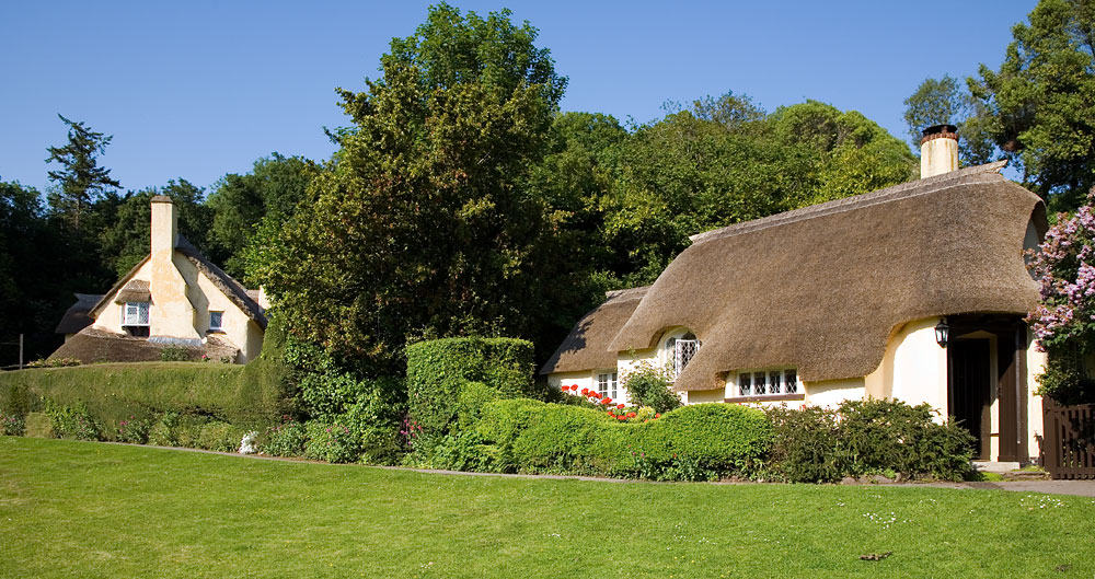 Selworthy Thatched Cottages Somerset Guide Photos