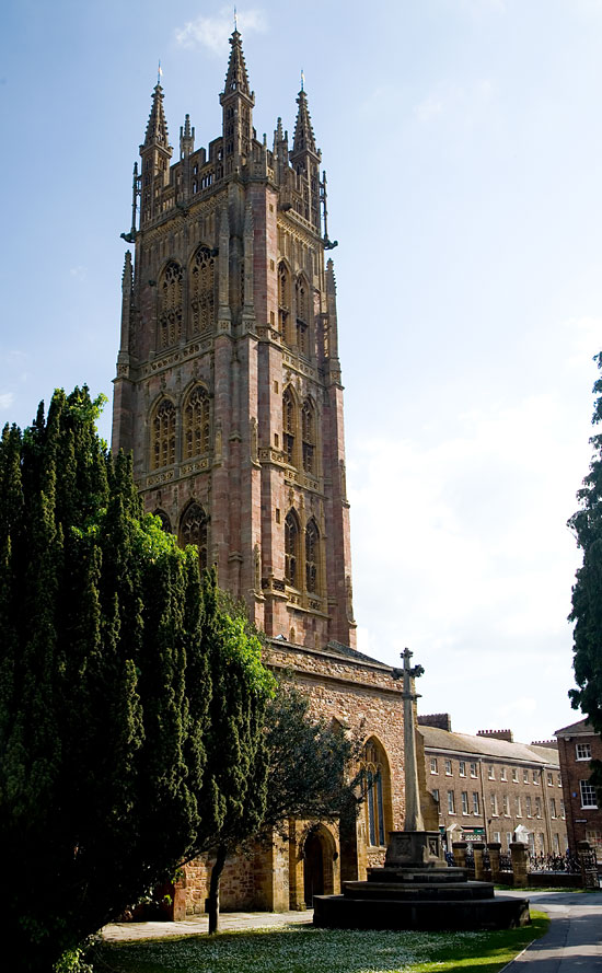 St Mary Magdalene Church Taunton Somerset Guide Photos