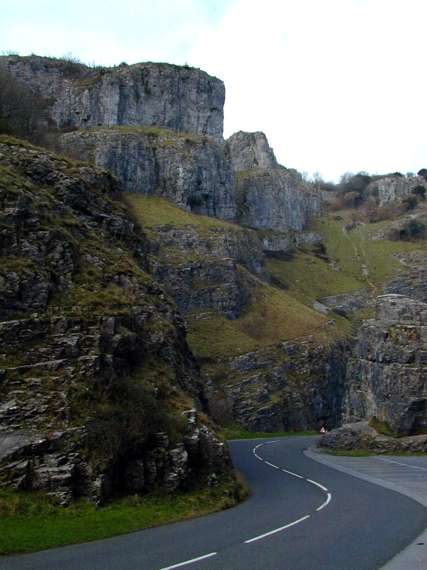 Cheddar Gorge Road Somerset Guide Photos