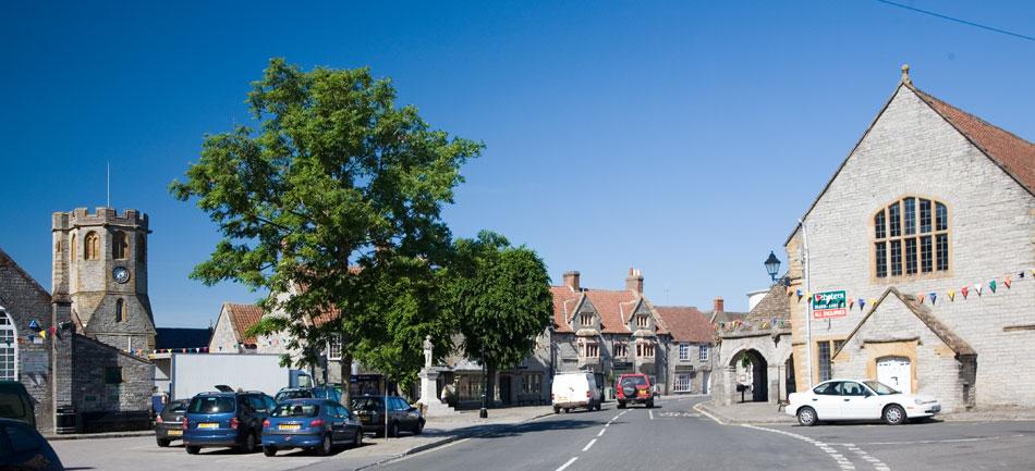 Somerton Market Place Somerset Guide Photos